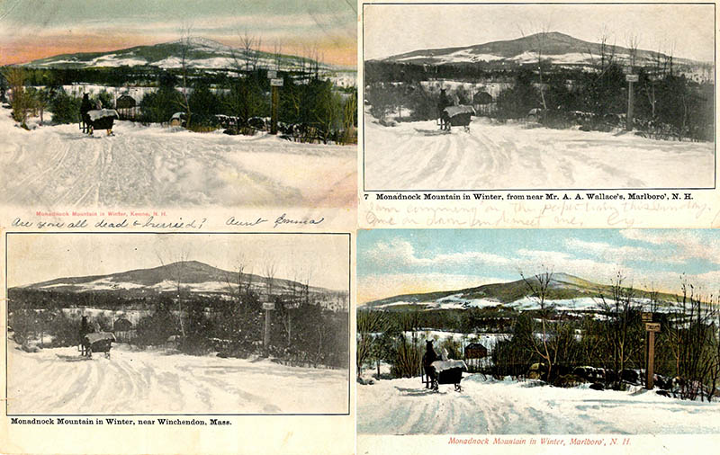 100 Views of Mt Monadnock-Corwin Levi & Michelle Aldredge - Winter Scenes